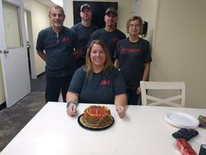 Amanda BD Cake